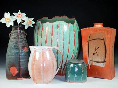 Collectible and Antique Pottery and Stoneware, Vases on Cyberattic.